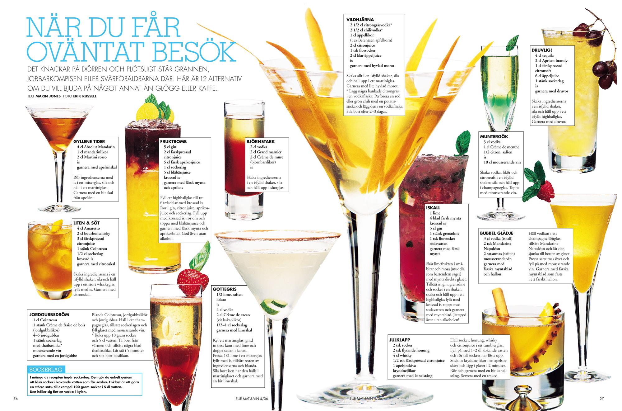 sockerlag till drinkar