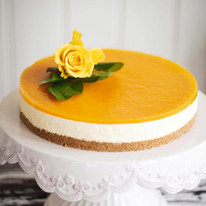 cheesecake tårta recept