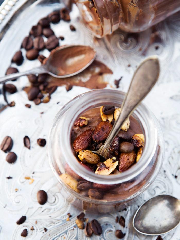Chokladmousse avokado
