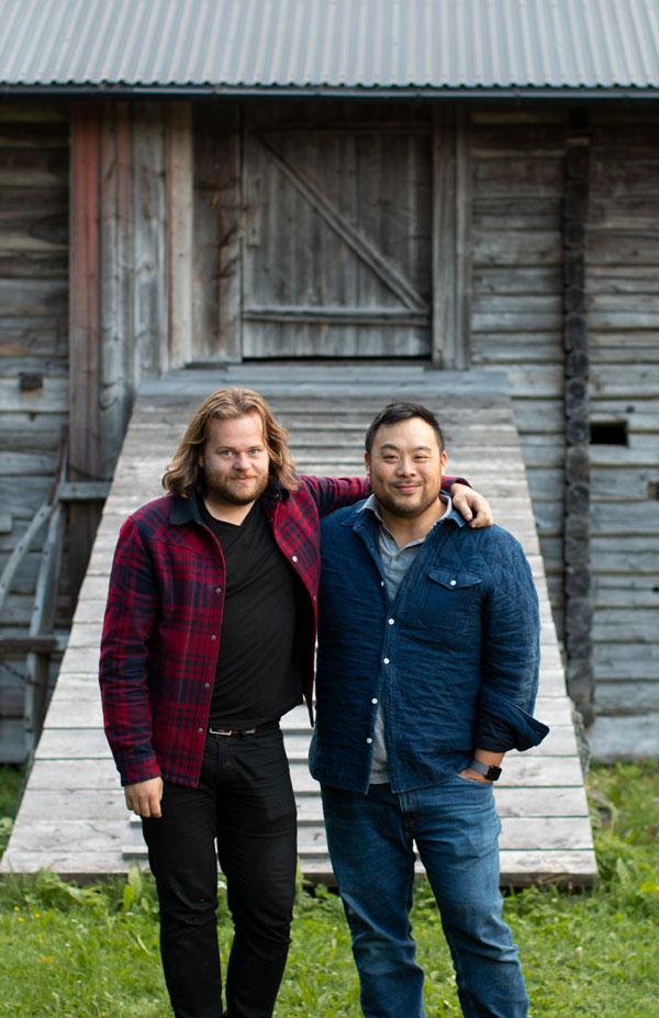 Fävikens Magnus Nilsson och amerikanska kocken David Chang möts i ett  avsnitt av Four Hands Menu 79a35408fe8b0