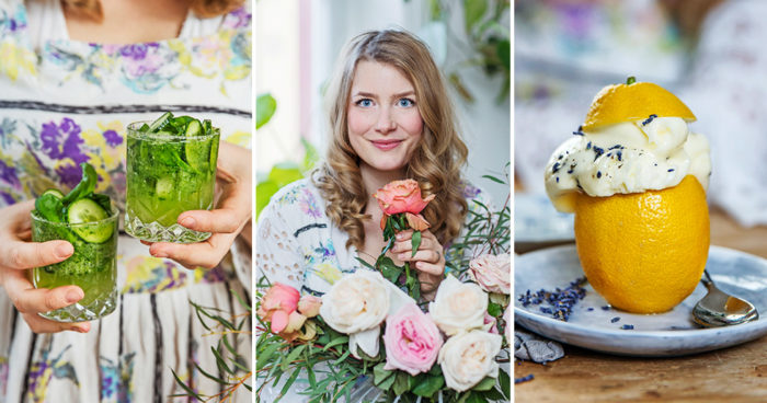 Elsa Billgren bjuder på en färgglad meny. Foto: Lina Eidenberg Adamo