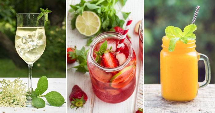 Blanda enkla, lyxiga drinkar med få ingredienser! Här är recepten!