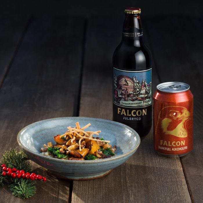 Falcon julbrygd och Falcon alkoholfri.