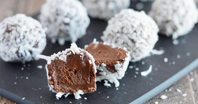 enkla chokladbollar recept