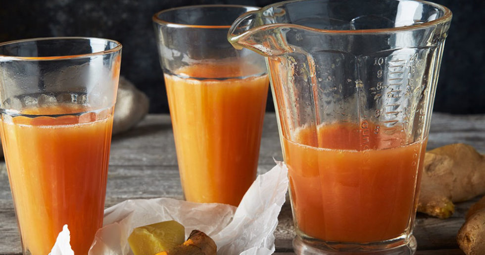 juice med gurkmeja