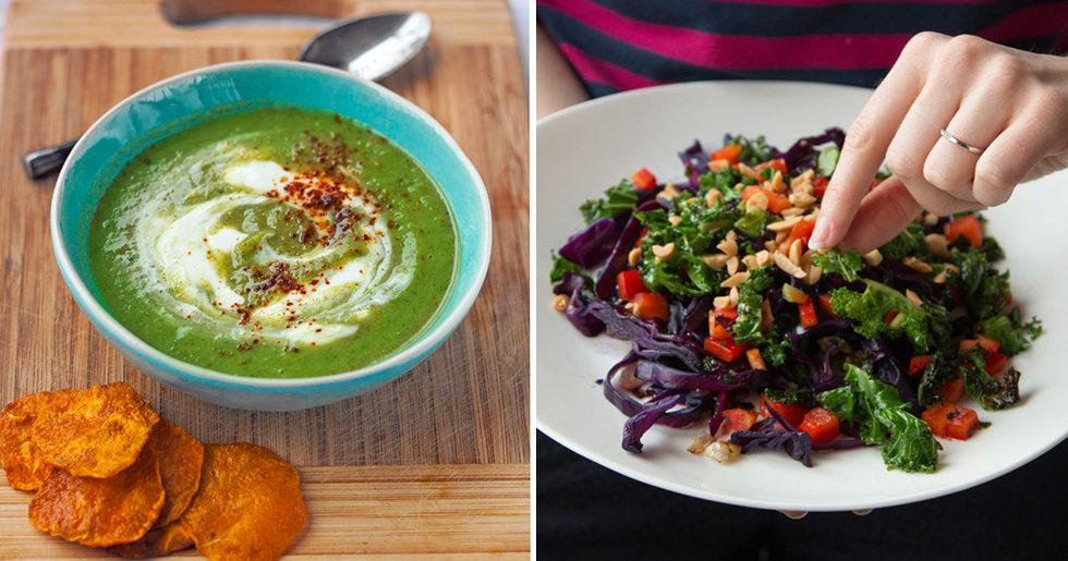 nyttiga vegetariska matlådor
