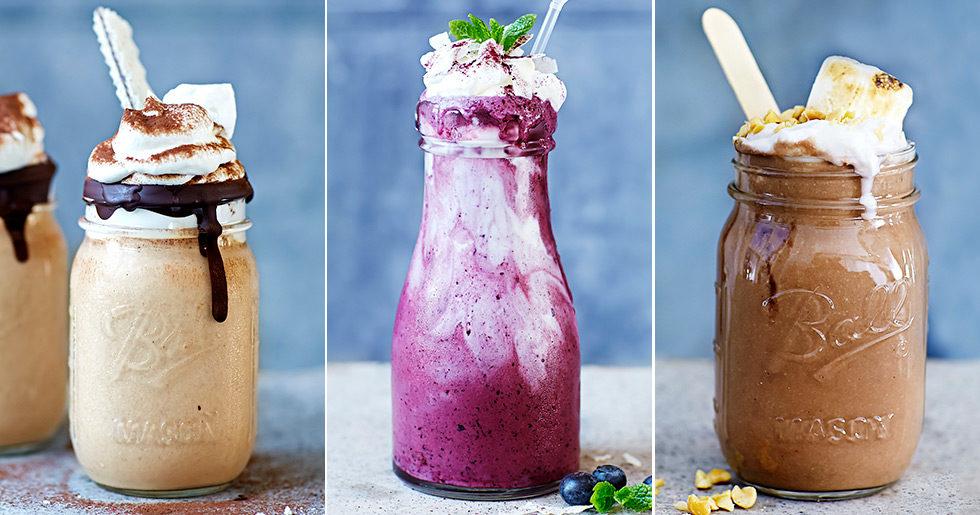 recept på milkshake