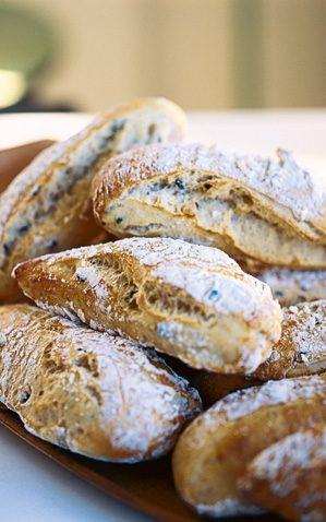 baka bröd med malt