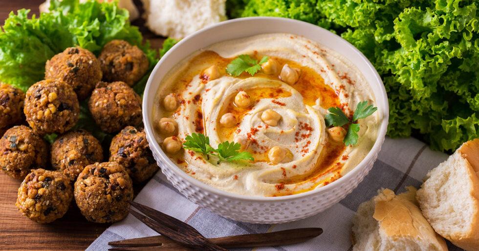 vegetarisk mat från mellanöstern