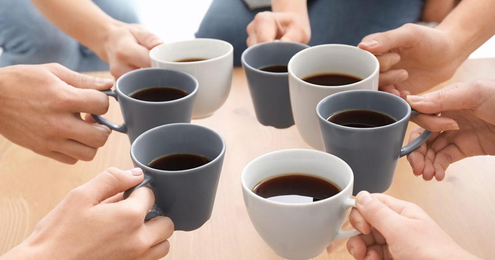 hur mycket koffein innehåller en kopp kaffe
