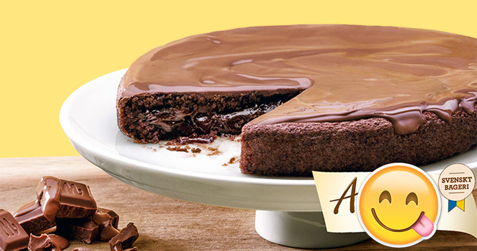 kladdkaka med marabou choklad