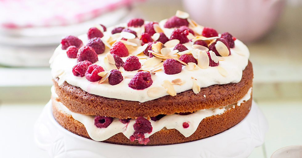 mandelmassa tårta recept