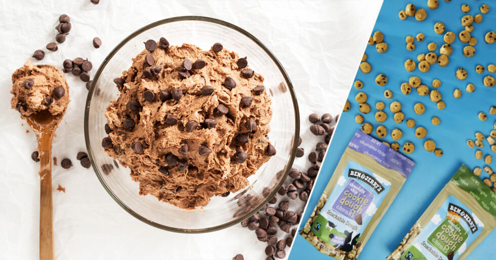 cookie dough recept utan farinsocker