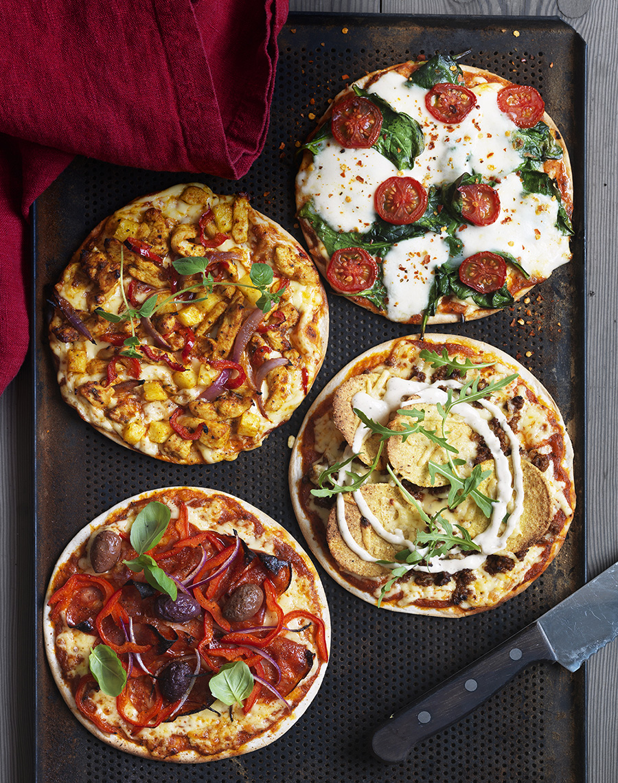 hemmagjord pizza topping