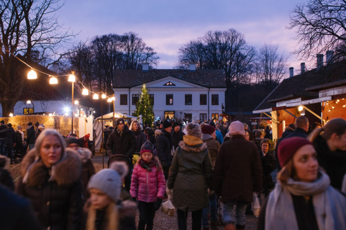 Jul på Fredriksdal. Foto: Anders Ebefeldt Studio-e
