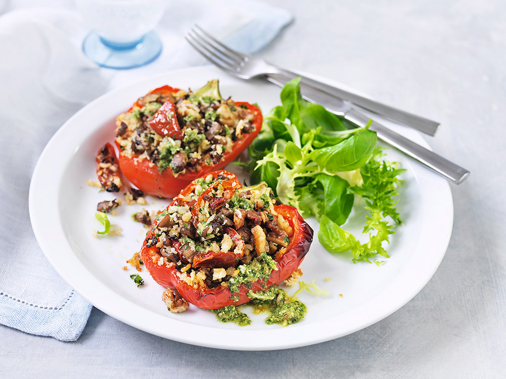 vegetarisk gourmetmat recept