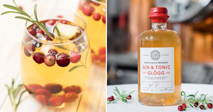 Stockholms Bränneri lanserar Gin & Tonic-glögg.