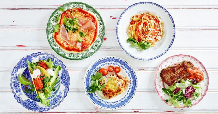 Tomatsås på fem sätt. Foto: Peter Phillips