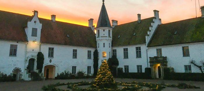 Julmarknad på Bosjökloster.