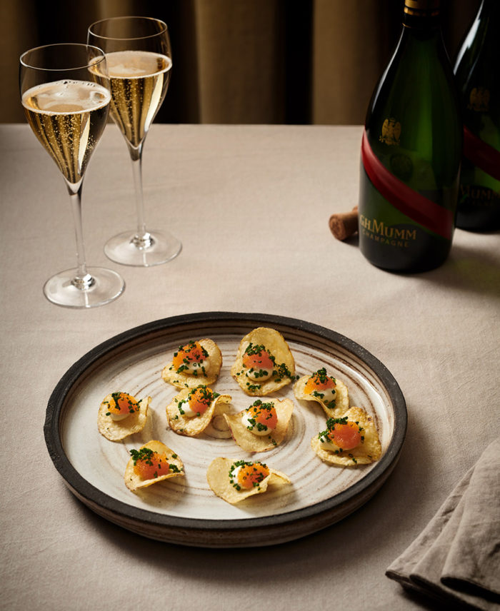 mat till champagne recept