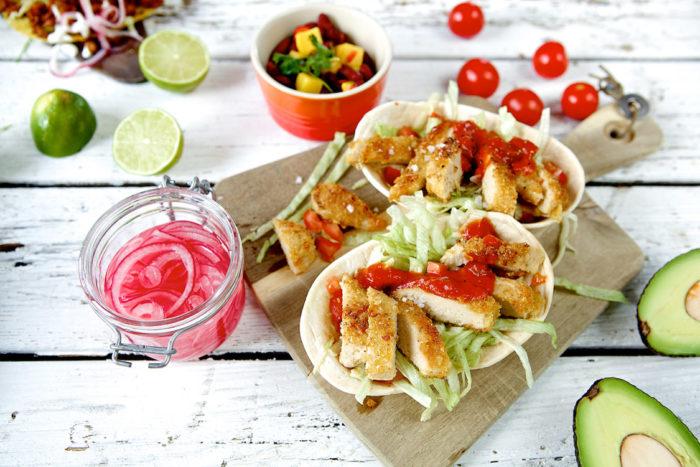 Laga vegetariska tacos till fredagsmyset.