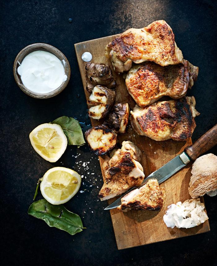 jordärtskocka kyckling recept