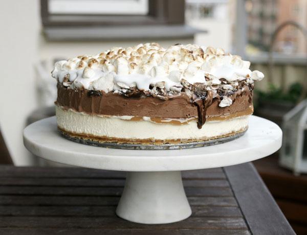 marshmallow tårta recept