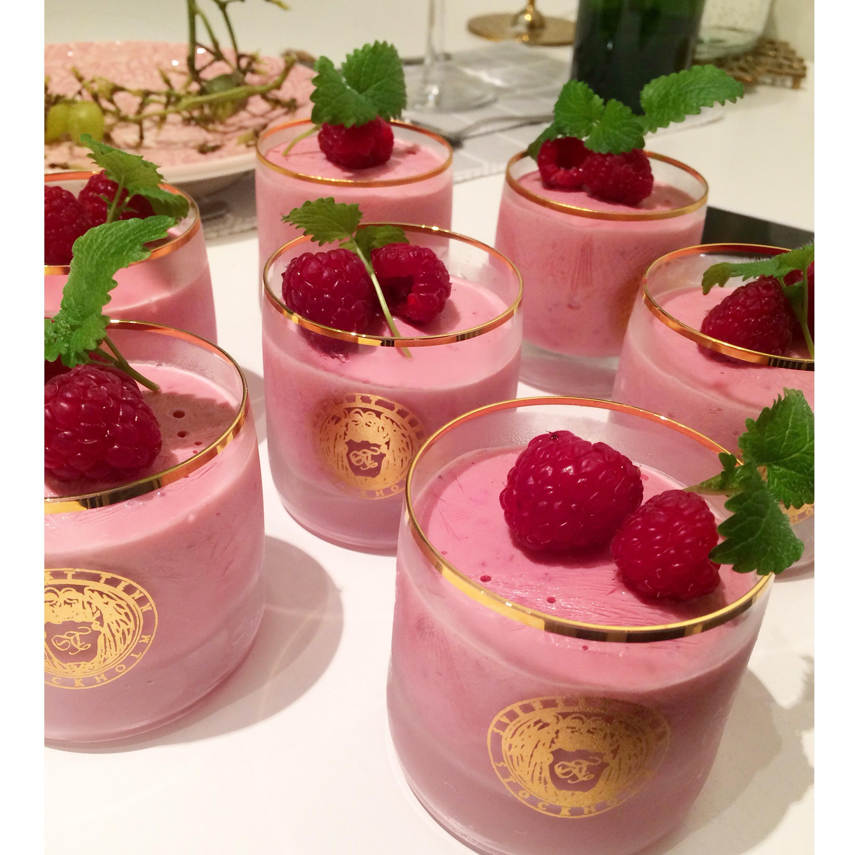 nyttig glass yoghurt