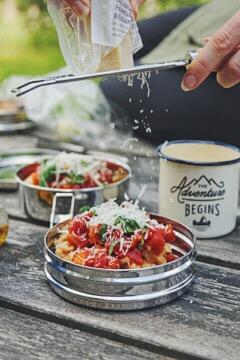 mat att laga på stormkök