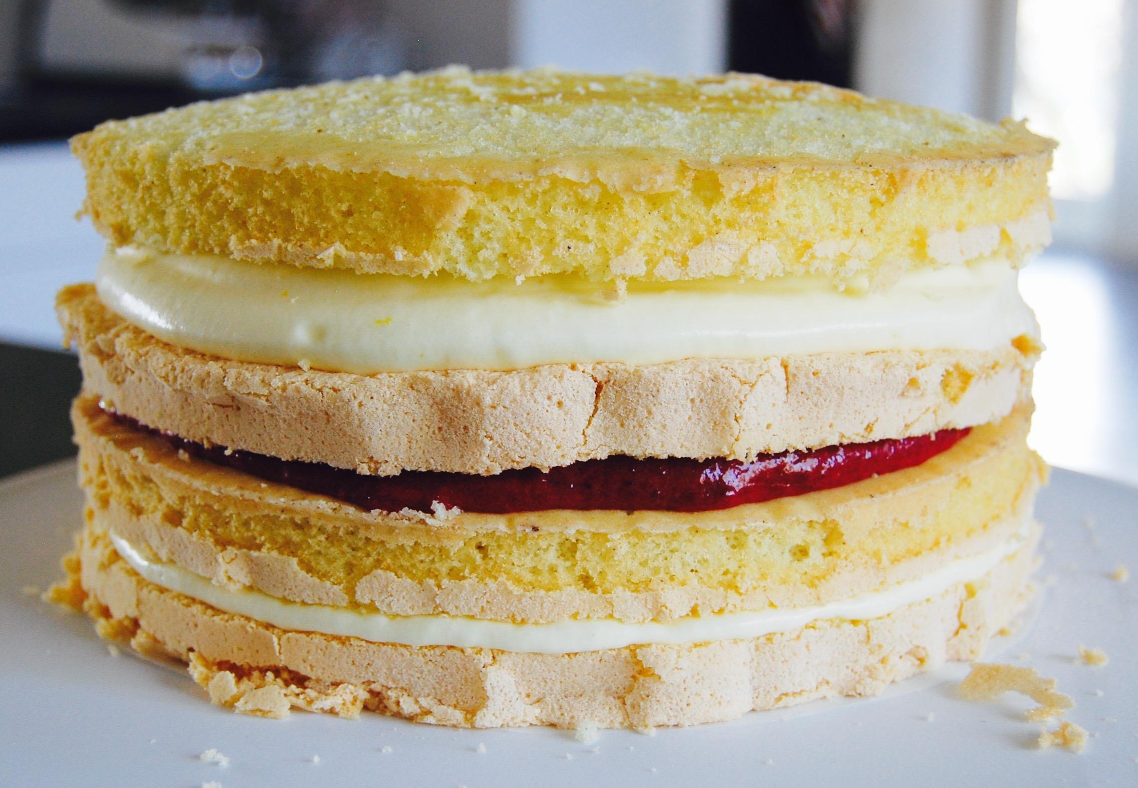 tårta med maräng