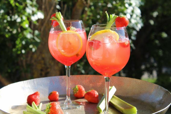 rabarber gin recept