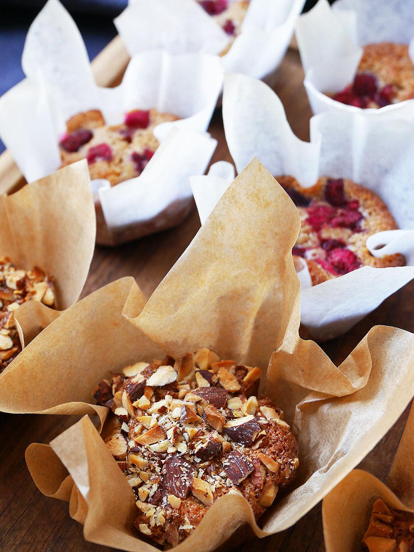 muffins med mandelmjöl