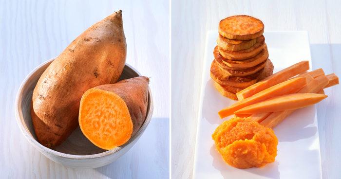 Recept och foto: Sötpotatis från North Carolina