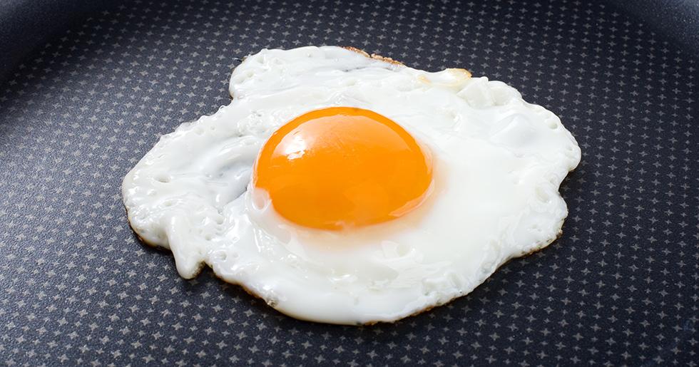 stekt ägg nyttigt