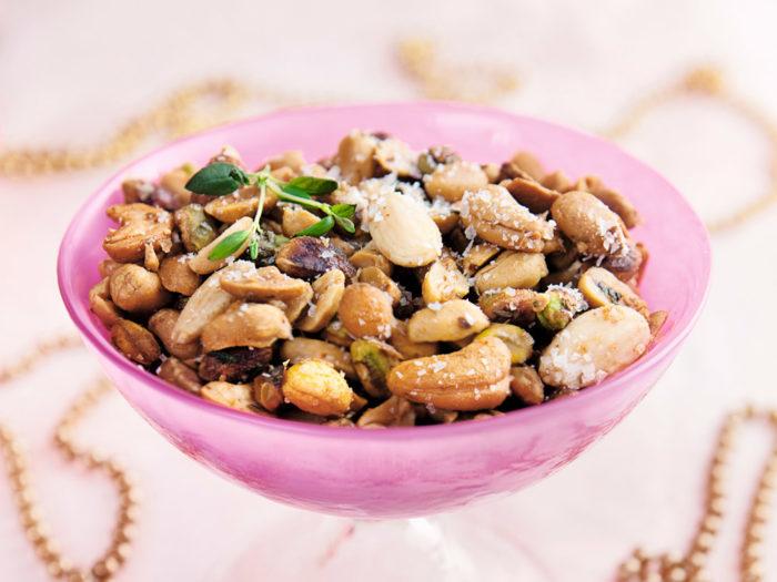 Sötstarka rostade nötter. Foto: Ulrika Ekblom