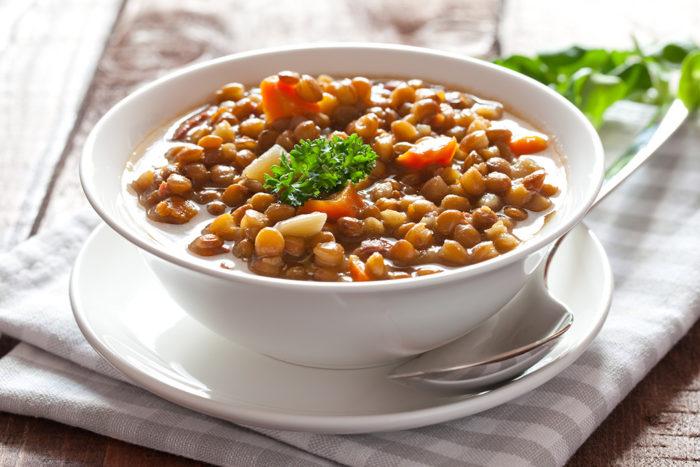 Kryddig linssoppa. Foto: IBL